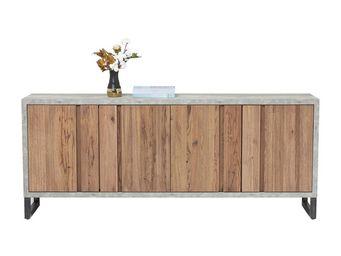 Kare Design - buffet seattle 4 portes - Buffet Bas