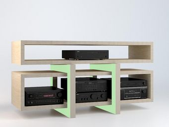 MALHERBE EDITION - low- - Meuble Tv Hi Fi