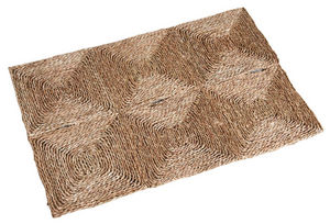 Aubry-Gaspard - tapis rectangulaire en jonc - Tapis Contemporain