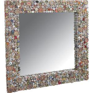 Aubry-Gaspard - grand miroir en papier recyclé grand modèle - Miroir