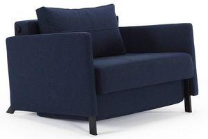 WHITE LABEL - innovation living fauteuil design avec accoudoirs  - Fauteuil Lit