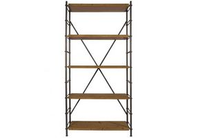 WHITE LABEL - dutchbone bibliothèque iron shelf esprit vintage - Etagère