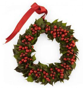 Rosemarie Schulz - fruits rouges  - Couronne De Noël