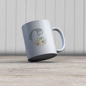 la Magie dans l'Image - mug douceur de printemps - Mug