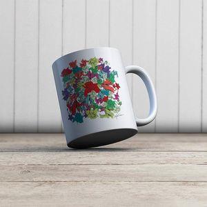 la Magie dans l'Image - mug fleurs motif - Mug