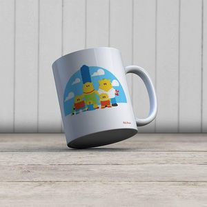 la Magie dans l'Image - mug héros simpsons - Mug