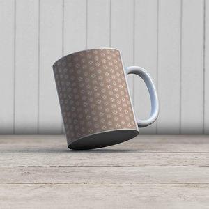 la Magie dans l'Image - mug lotus beige foncé - Mug