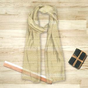 la Magie dans l'Image - foulard anis jaune blanc - Foulard Carré