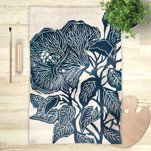 la Magie dans l'Image - foulard hibiscus - Foulard Carré