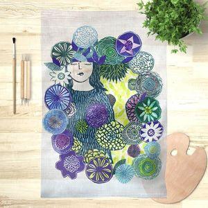 la Magie dans l'Image - foulard la somnambule - Foulard Carré