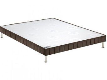 Bultex - bultex sommier tapissier confort ferme vison 140* - Sommier Fixe À Ressorts