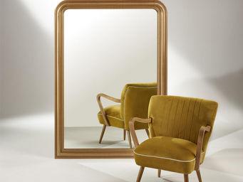 robin des bois - grand miroir doré amandine - Miroir