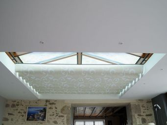 Stores Reflex'sol -  - Store Fenêtre De Toit (intérieur)