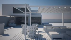 FRAMA ACTION - sintesi shade- - Abri De Terrasse