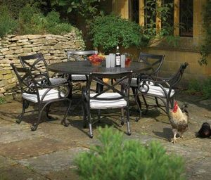 Oxley's - riviera - Table De Jardin Ronde