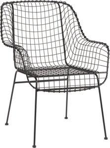 Amadeus - fauteuil esprit industriel grillage - Fauteuil