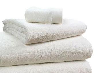 Liou - grandes serviettes ivoire - Drap De Bain