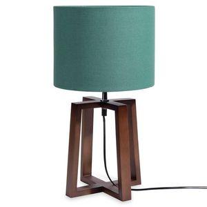 MAISONS DU MONDE - mahogany - Lampe À Poser