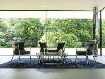 Alexander Rose - cordial lounge inox.-- - Canapé De Jardin