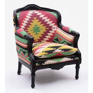 Mathi Design - fauteuil kilim baroque - Fauteuil