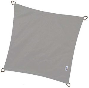 NESLING - voile d'ombrage carrée coolfit anthracite - Voile D'ombrage