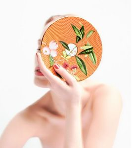 Raynaud - trésor fleuri.._- - Assiette Plate