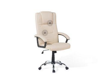 BELIANI - fauteuil massant - Chaise De Bureau