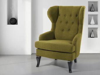 BELIANI - fauteuil - Fauteuil À Oreilles