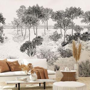 ISIDORE LEROY - dune - Papier Peint Panoramique