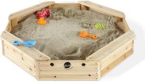 Plum - bac à sable en bois avec 4 bancs intégrés - Bac À Sable