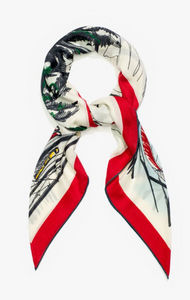 LORO PIANA Interiors - snow wonderland - Foulard Carré