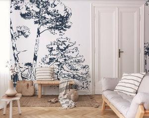 ISIDORE LEROY - les pins - Papier Peint