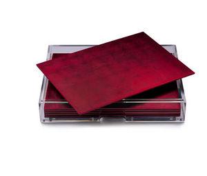 POSH - chic matte red - Set De Table