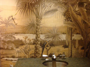 Iksel - d-dream sepia - Papier Peint Panoramique