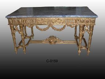 Atelier Louis  XIV -  France - table à gibier de style louis xvi - Table À Gibier