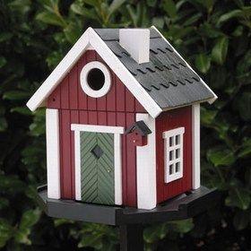 Garden Boutique - swedish cottage birdhouse - Maison D'oiseau