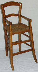 Antiquit�s Eric de Br�geot -  - Chaise Haute Enfant
