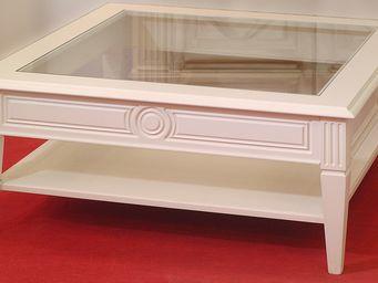 Luc Perron Creation -  - Table Basse Avec Plateau