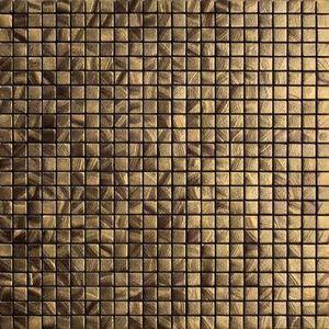 Vives Azulejos y Gres - satinados mosaico tiépolo oro 30x30cm - Carrelage Mural