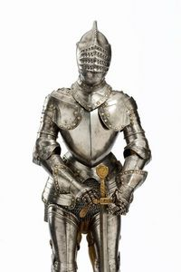 Peter Finer - a fine french model armour in late 16th century st - Armure