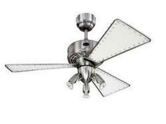 LA BOUTIQUE DE L'AIR - ventilateur de plafond 105cm jasper blanc - Ventilateur De Plafond