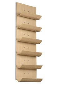 vertical roble range bouteilles naturel bois vinnomio casier bouteille cuisine ikea