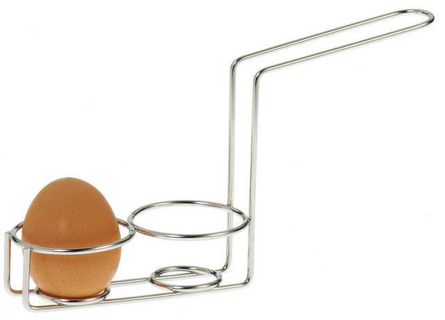 cuit oeufs 2 places en inox 22x11x6cm coqueti re. Black Bedroom Furniture Sets. Home Design Ideas