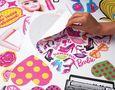 Sticker Décor adhésif Enfant-Funtosee-Kit de stickers Barbie