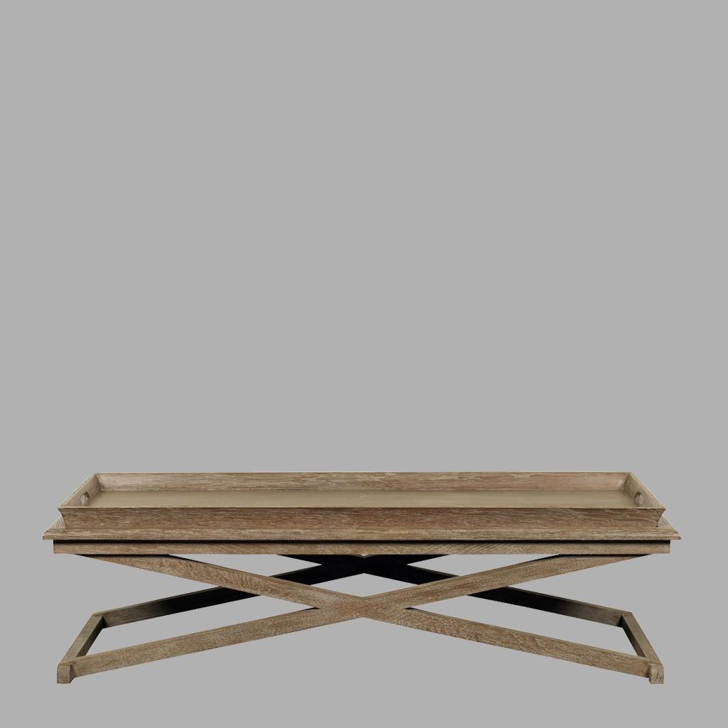 JERRY - Table basse rectangulaire - BLANC D\'IVOIRE