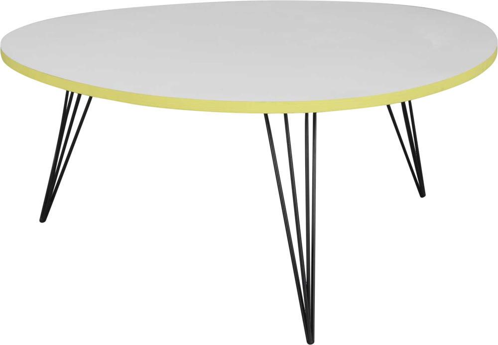 table basse ronde originale simple table basse ronde cm en bois de manguier marron et noir with. Black Bedroom Furniture Sets. Home Design Ideas