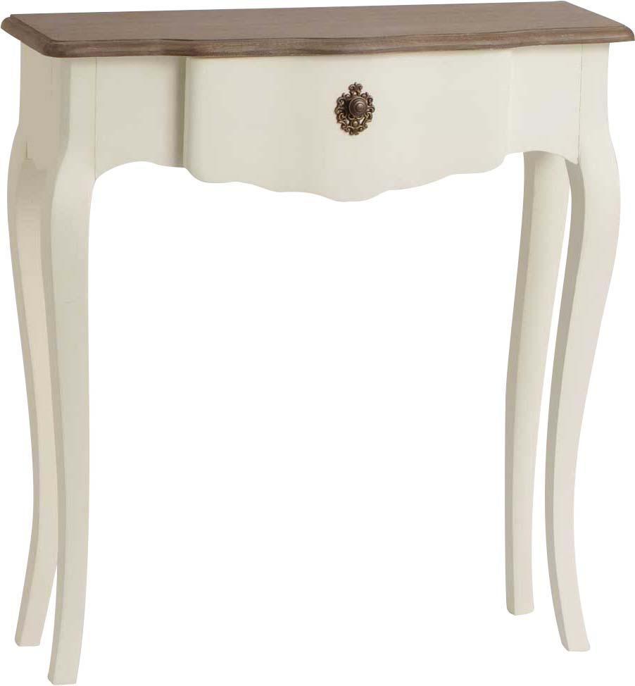 petite console blanche celestine en bois mdf console. Black Bedroom Furniture Sets. Home Design Ideas