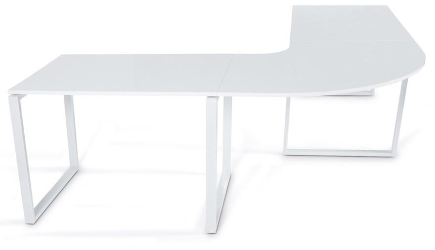 Grand bureau design kuvo bureau dangle blanc kokoon design