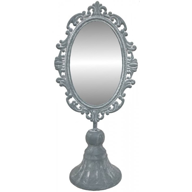 Petit miroir psych poser en fer 30 cm miroir poser Petit miroir decoratif
