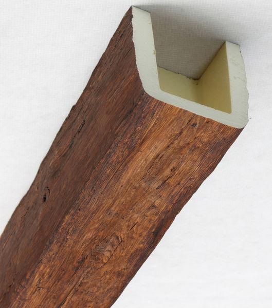 mb 25 fausse poutre brun polyurethane nevadeco. Black Bedroom Furniture Sets. Home Design Ideas